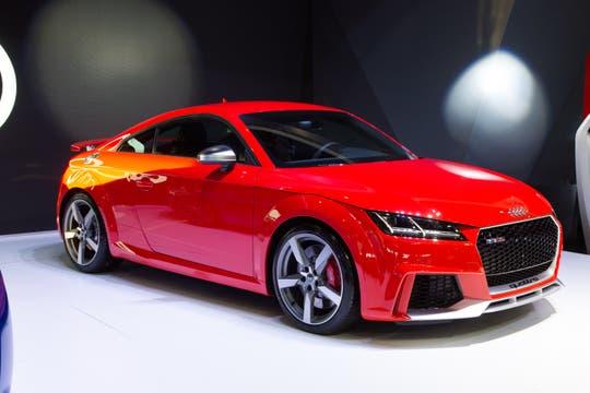 Audi TTRS.