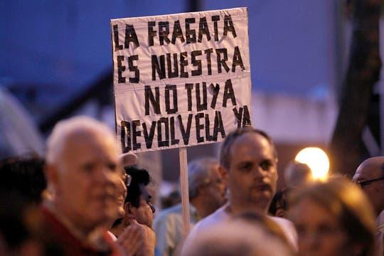 La ocurrencia y originalidad de los que participaron en la protesta del #8N. Foto: LA NACION / Santiago Filipuzzi