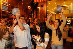 Los vecinos protestaron en Barrio Norte