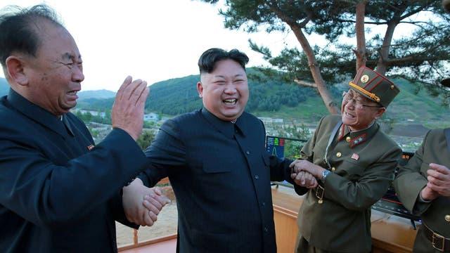 El Supremo Líder de Corea del Norte, Kim Jong Un