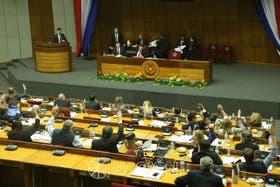 El momento de la votación en el Senado donde se aprobó un 10% de retenciones a la soja