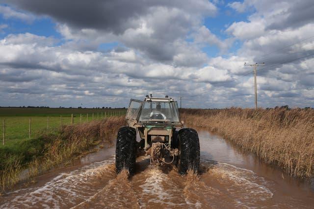 Los actuales excesos hídricos complican la planificación de la campaña