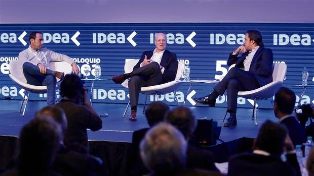 Galperín, Rocca y Del Río, en un debate que generó fuertes consensos
