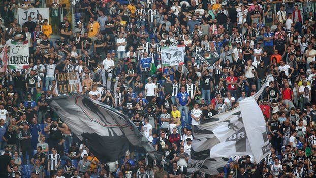 La gran fiesta de la Juve. Foto: Reuters