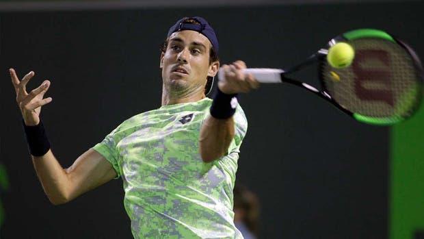 Tenistas argentinos Delbonis y Pella por pasar a octavos en Miami