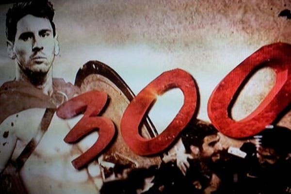 Messi como el protagonista de 300.