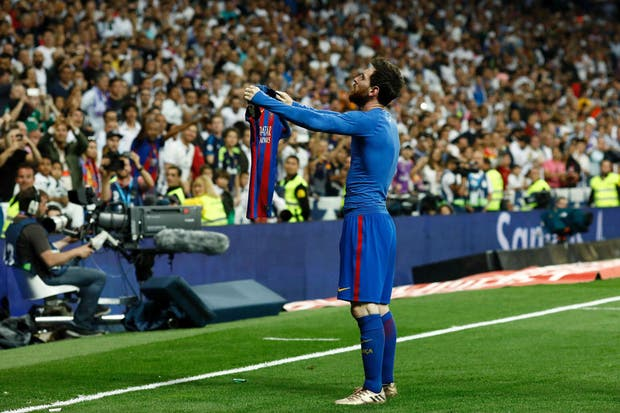 El festejo del Messi del que habló el mundo