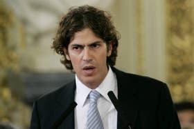 El ex ministro de Economía durante un acto en la Casa Rosada