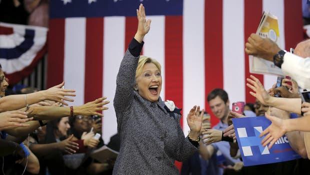 Hillary Clinton, hasta ahora la favorita de los demócratas
