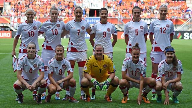 La selección femenina de mujeres en Dinamarca