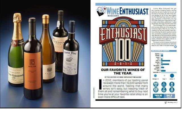 Riglos Gran Corte 2009, el N°1 para la revista Wine Enthusiast