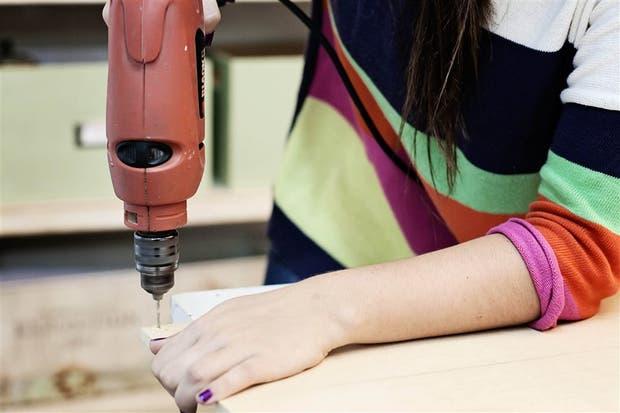 Melina Belluzzo, enExperimento Casa, asegura que aprendíó sola a trabajar la madera