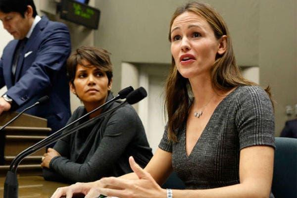 Halle Berry y Jennifer Garner, protegiendo a sus hijos ante el parlamento de California