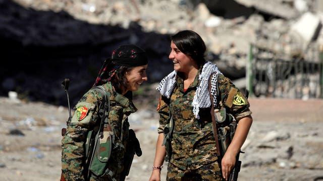 Las fuerzas de EEUU recuperan la ciudad de Raqqa del Estado Islámico