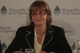 La procuradora general de la Nación fue la última oradora en la audiencia pública convocada por la Corte Suprema