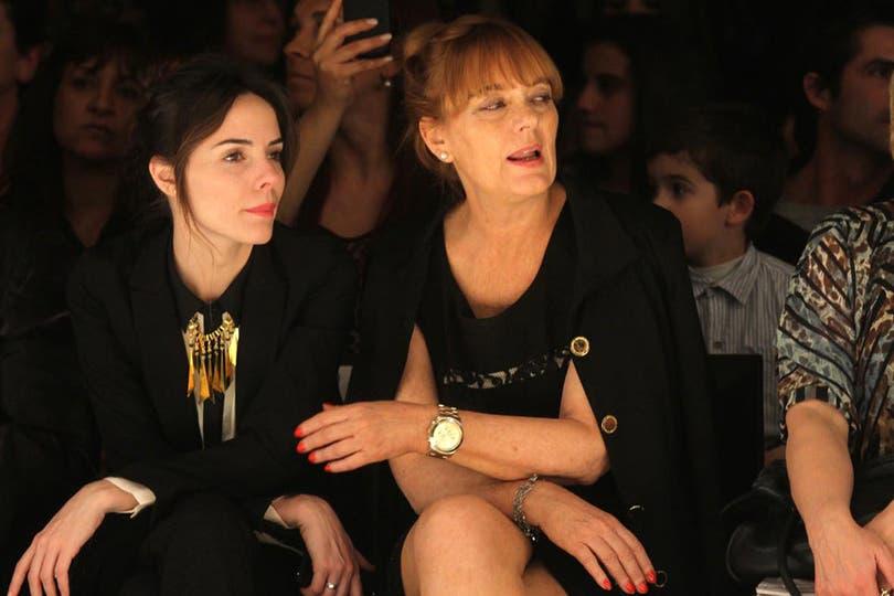 La madre y la hermana de Attias la observaron atentamente desde el público. Foto: Gerardo Viercovich