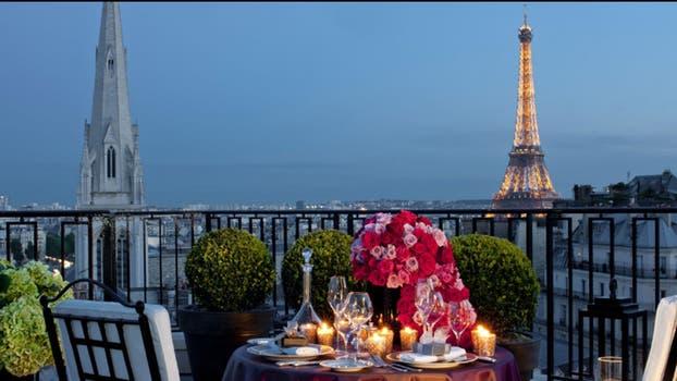 La suite Penthouse tiene una vista 360 grados a la ciudad, con la Torre Eiffel incluida. Foto: Four Seasons