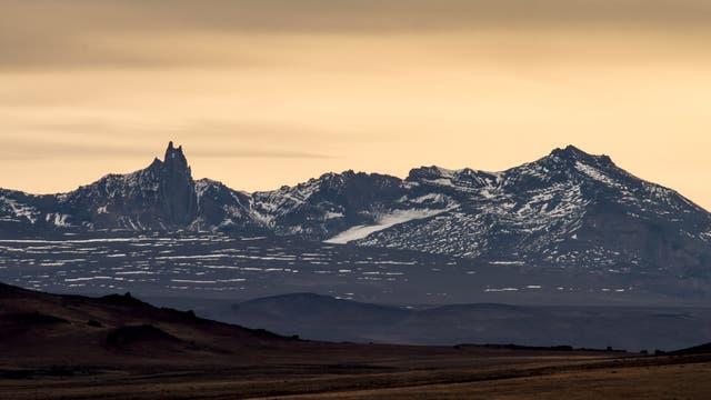 Parque Nacional Perito Moreno, cerro San Lorenzo