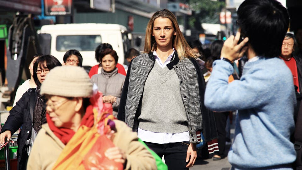 Christina Dean en Hong Kong