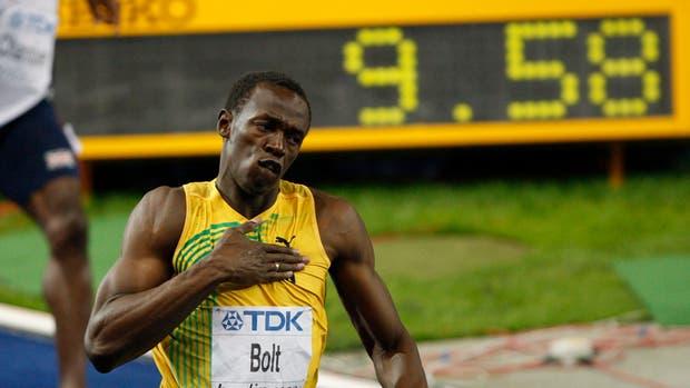 Usain Bolt y el mejor tiempo de la historia en los 100 metros: 9.58