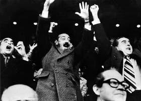 Una imagen que trascendió su tiempo: el festejo de la junta militar en el Mundial 78