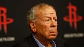 Leslie Alexander, el dueño de los Rockets desde hace 24 años