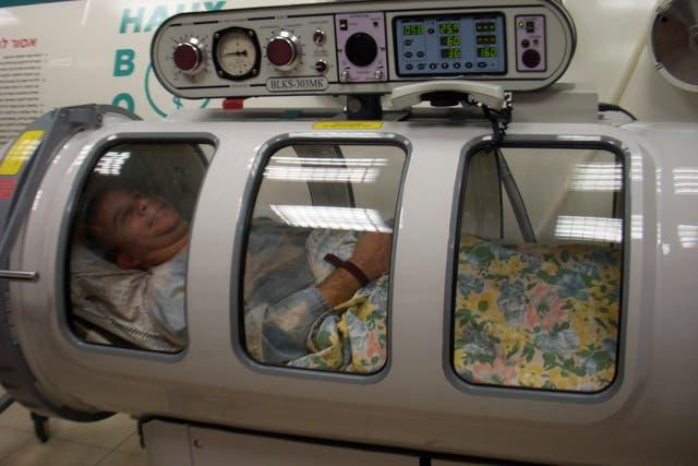 La conocida cámara hiperbárica se emplea en nuevas patologías