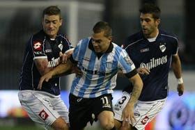 Racing cayó 2-0 ante Quilmes el viernes