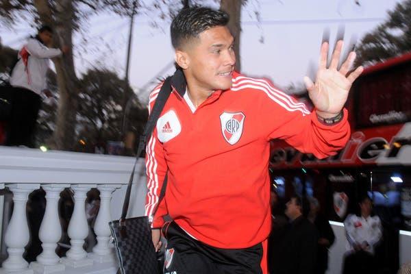 Teo llegó a Mendoza con el plantel, pero no podrá jugar