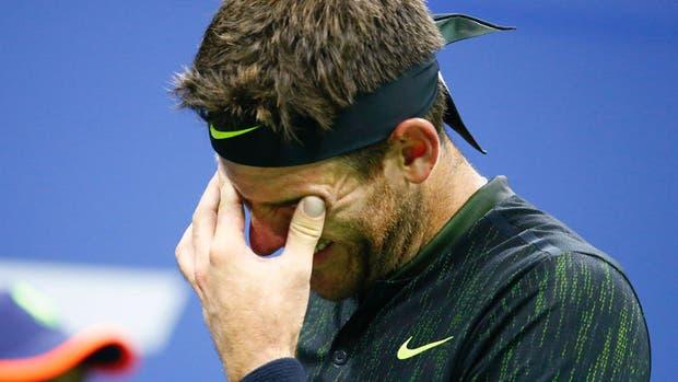 Juan Martìn del Potro se quebrò en el US Open