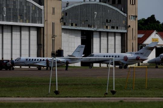 A El Palomar llegaran los vuelos de Pluna, Andes, Buquebus, LADE y Sol. Foto: LA NACION / Alfredo Sánchez