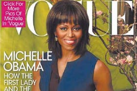 Tapa de Michelle Obama en la revista Vogue
