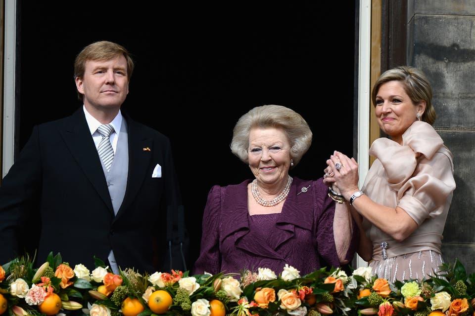 Tanto Máxima como Beatriz no pudieron con la emoción y ambas derramaron algunas lágrimas al salir al balcón.. Foto: /Getty Images