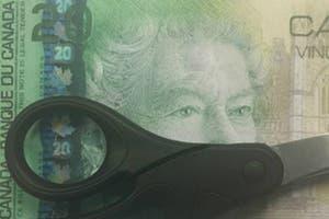 La regi�n de Canad� donde parten los billetes por la mitad