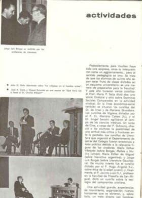 Página del diario del Colegio