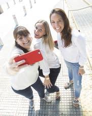 Leticia Arcucci, Soledad Garona y Natalia Plateroti
