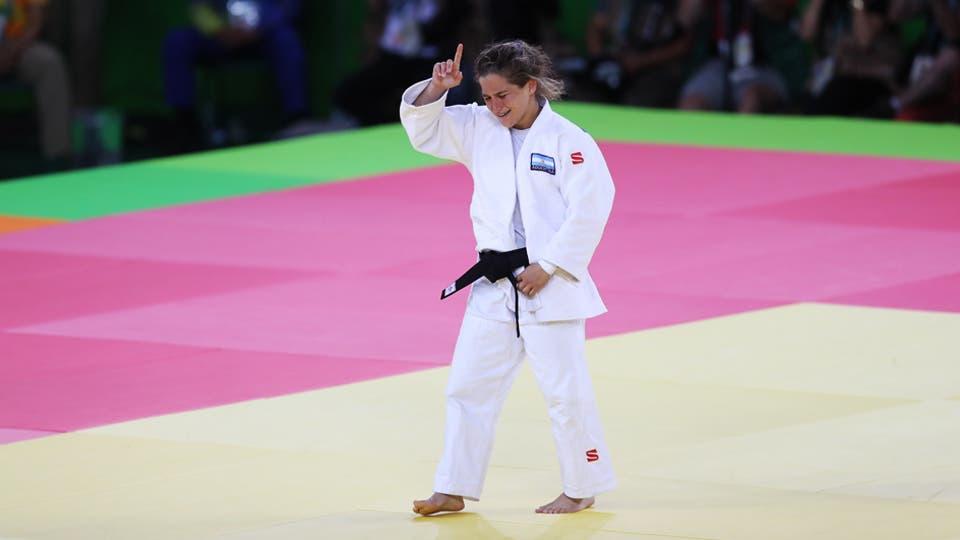 «Río 2016. Paula (la peque) Pareto ganó la medalla de oro en judo» 2247911h765