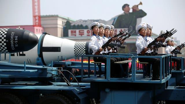 Desfile militar norcoreano