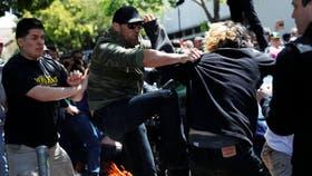 En Berkeley se registraron incidentes durante la marcha