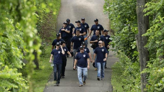 La policía busca a los desaparecidos en Solebury, Pensilvania