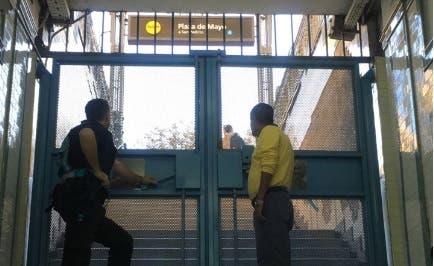 La estación del subte A de Plaza de Mayo cerró a las 17