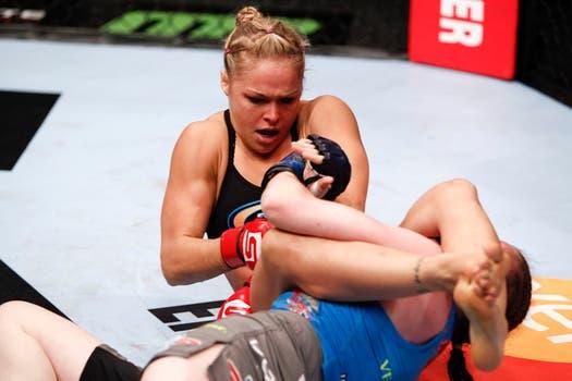Ronda Rousey, la campeona UFC defenderá su cetro. Foto: Ronda Rousey
