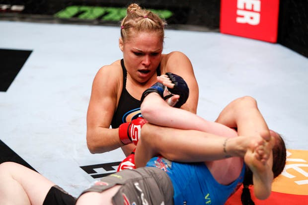 Ronda Rousey, la campeona UFC defenderá su cetro.  /Ronda Rousey