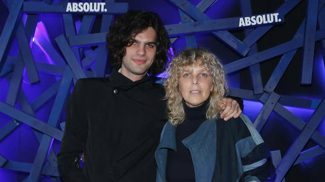 Jessica Trosman y su hijo Momo.