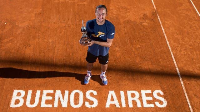 Dolgopolov, el último campeón en Buenos Aires