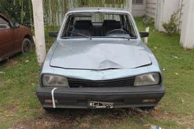 El Peugeot 504 de Pablo García, secuestrado