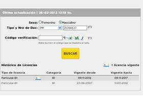 Los cambios en la licencia de Pablo García
