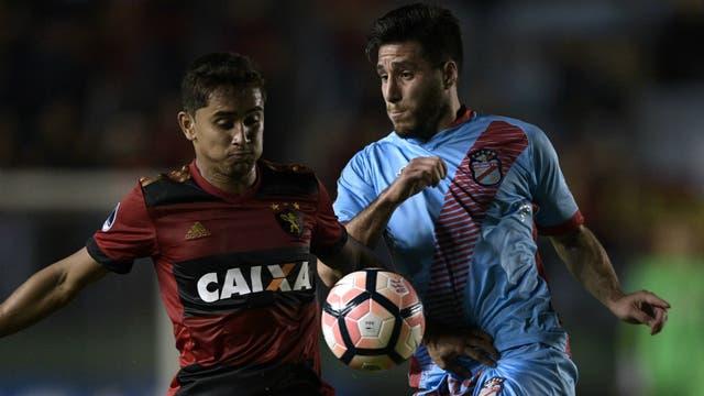 Arsenal y Sport Recife, en el Viaducto