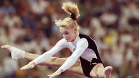Tatiana Gutsu, en plena competencia