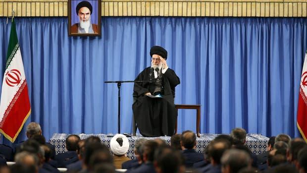 El ayatollah Ali Khamenei, contra Trump